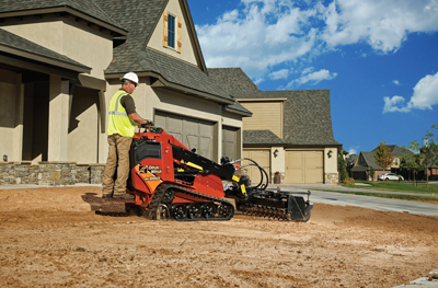 New Ditch Witch SK850 Mini Skid Steer