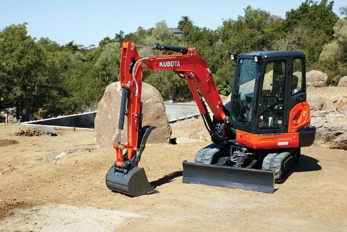 Kubota KX040-4 compact Excavator