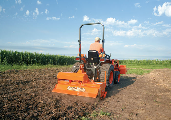 PTO Mulchers for Tractors - Compact Equipment