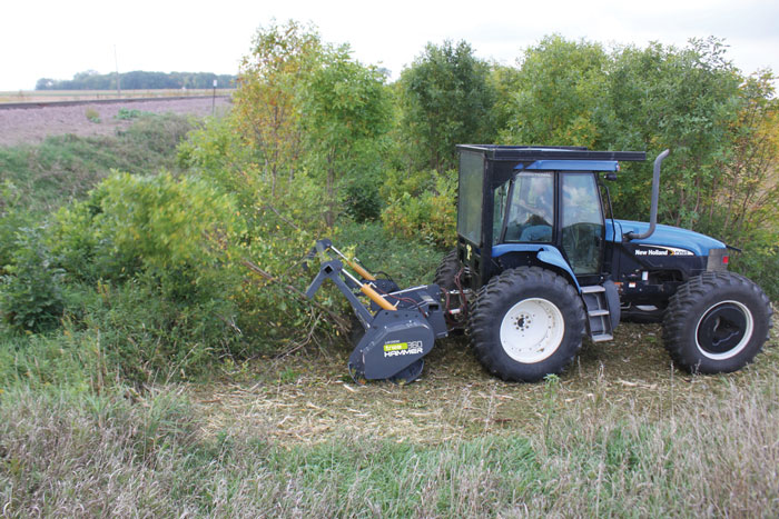 Interesting implements and attachment systems for utility tractors