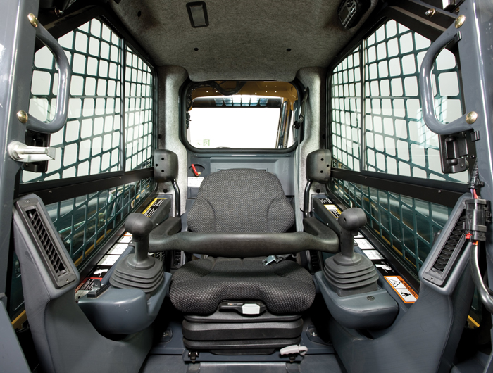 Along with high-tech hydraulics, opulent cabs are an increasing commodity on today's jobsites.