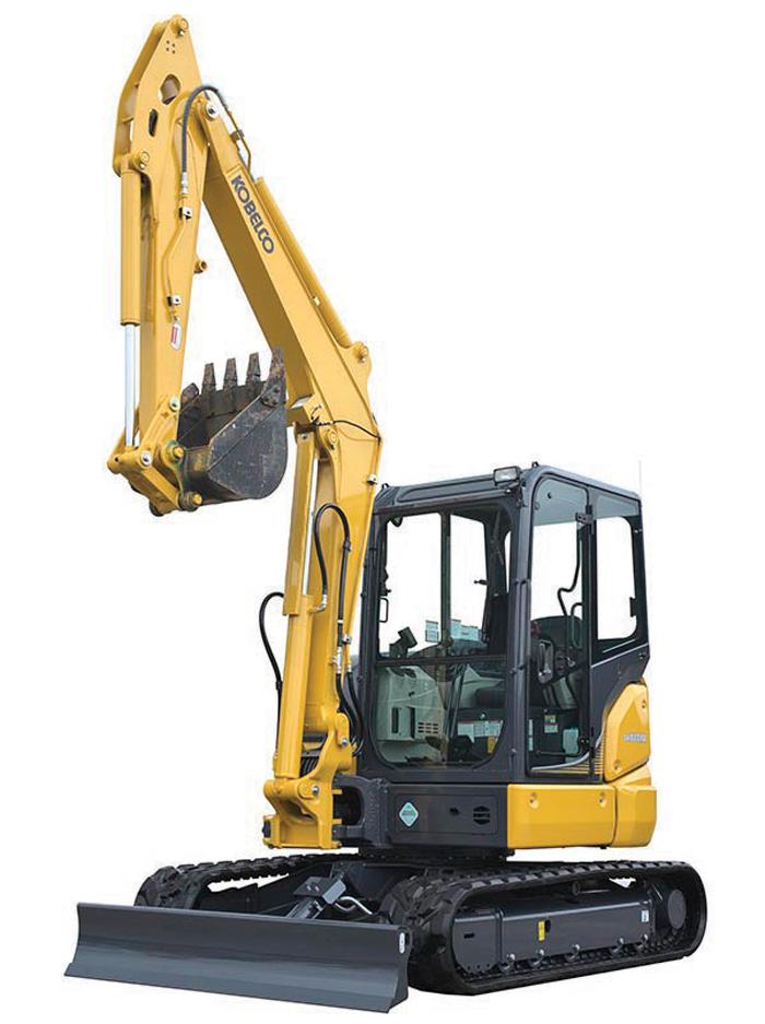 Kobelco Compact Crawler Excavators