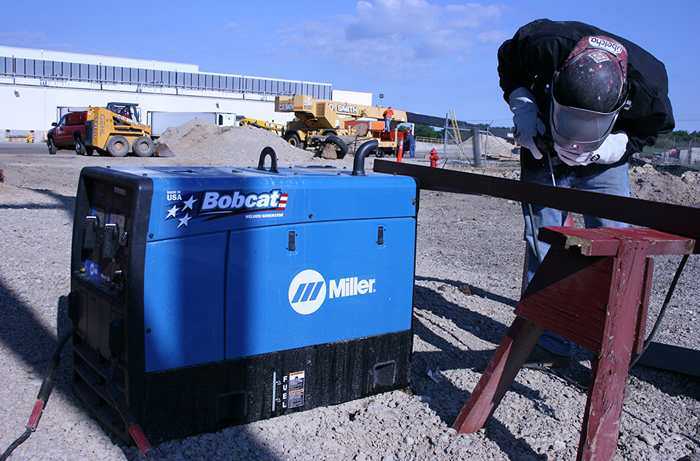 Company Cuts Noise, Saves Cash with Miller Welder/Generators