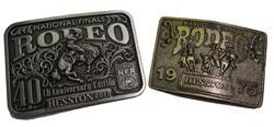 Friday Fun: 40th Anniversary AGCO Belt Buckle Celebrates National Rodeo Finals