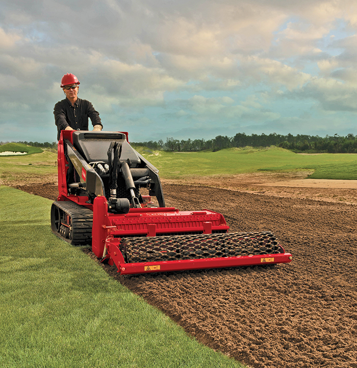 The Toro soil cultivator falls in the everyday category for yard and garden contractors. The attachment can churn soil more than 5 in. deep in one pass and leave behind a level blended seedbed.
