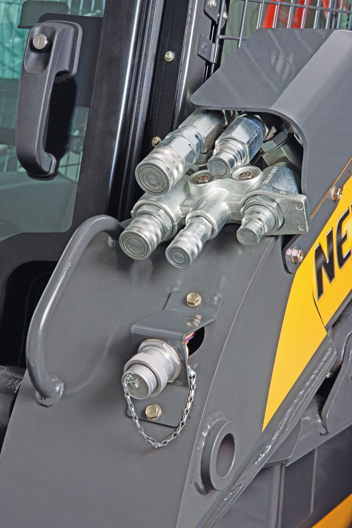 Skid steer and track loader hydraulic maintenance | Compact