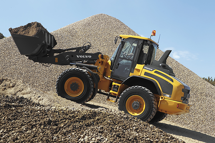 Volvo L45H and L50H Compact Wheel Loaders are Fully Loaded