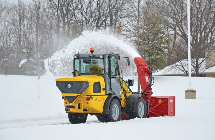 Blower Snow Removal Equipment : The ultimate snow loader compact equipment