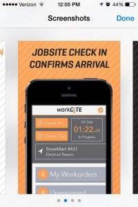 CrossFleet workCITE app